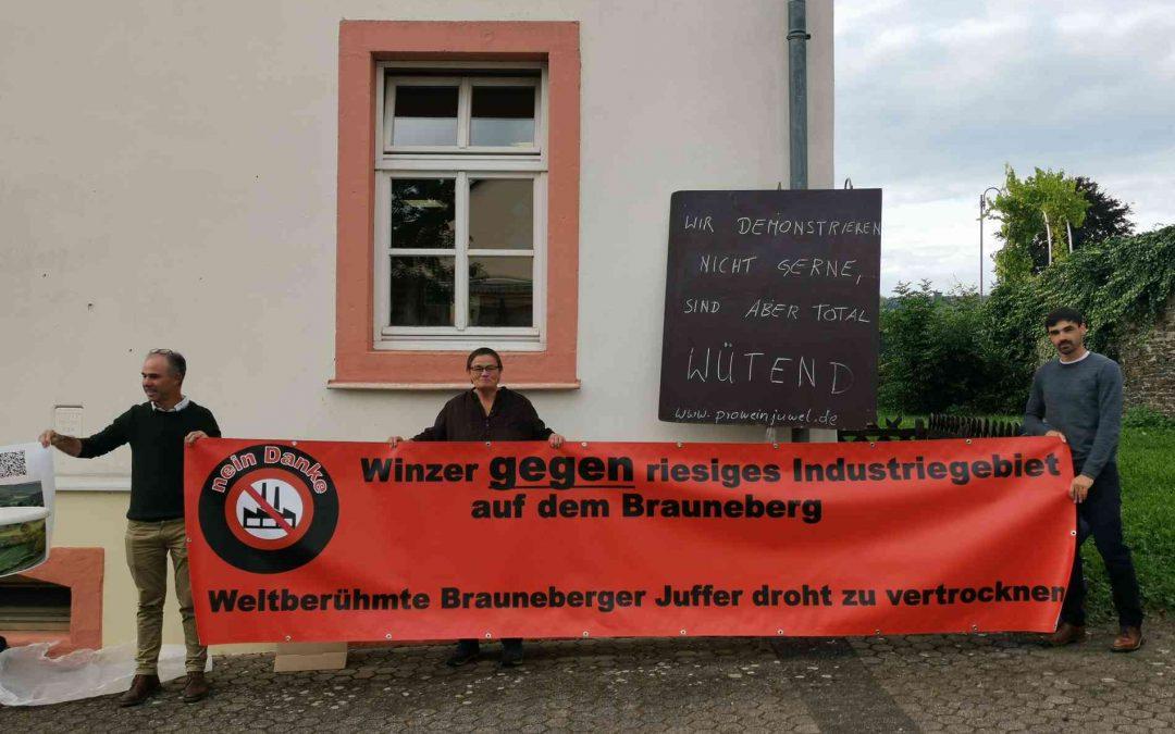 Der Maring-Noviander Gemeinderat befürwortet das Großprojekt. Winzer aus Brauneberg wollen neuerdings dieselben Flächen wegen des Klimawandels für den Weinanbau nutzen.
